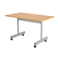 FF Jemini 1200mm Flip Top Table Oak