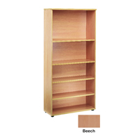 FF Jemini 1800mm Bookcase Beech