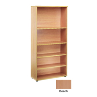 FF Jemini 2000mm Bookcase Beech