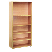 FF Jemini 1800mm Bookcase Oak