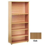 FF Jemini 2000mm Bookcase Oak