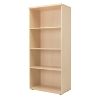 FF Jemini 1800mm Bookcase Maple