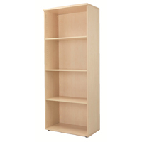 FF Jemini 2000mm Bookcase Maple