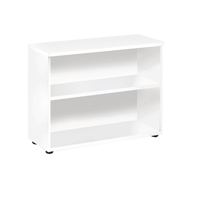 FF Jemini 730mm Bookcase 1 Shelf Wh
