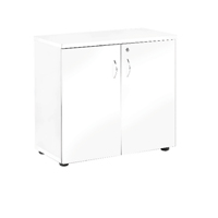 FF Jemini 730mm Cupboard 1 Shelf Wh
