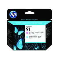 )HP No91 Printhead LMagenta&LCyan C9462A