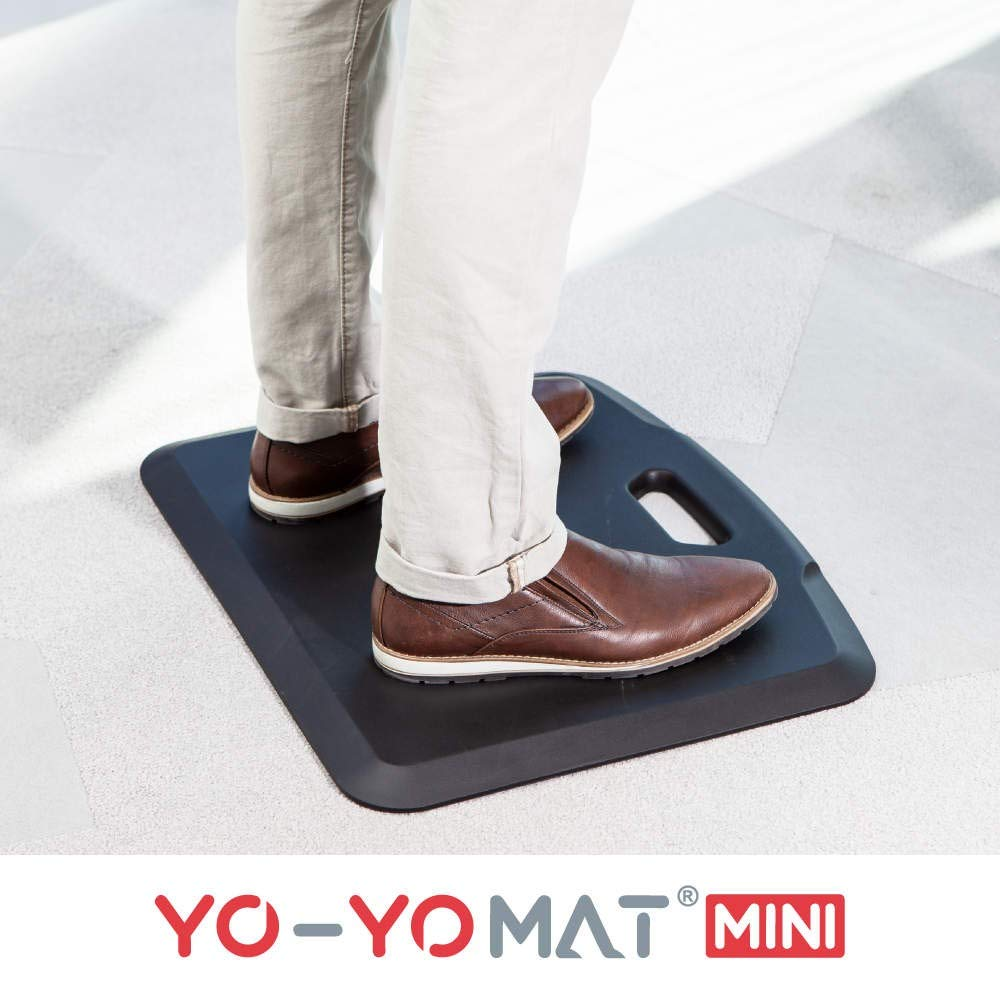 YO-YO Mat Mini Black 56x46cm, Soft Density
