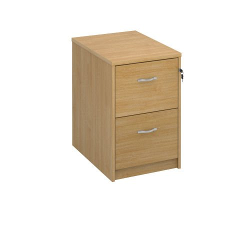 O/Style Deluxe Exec Filing Cab 2Drw Oak