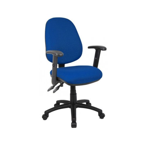 Vantage 102 Adj Arm Op Chair Blue