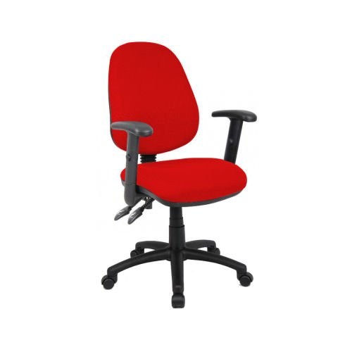 Vantage 102 Adj Arm Op Chair Red