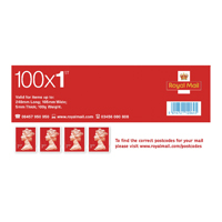 Royal Mail First Class Stamps Bulk Pack 1 Working Day