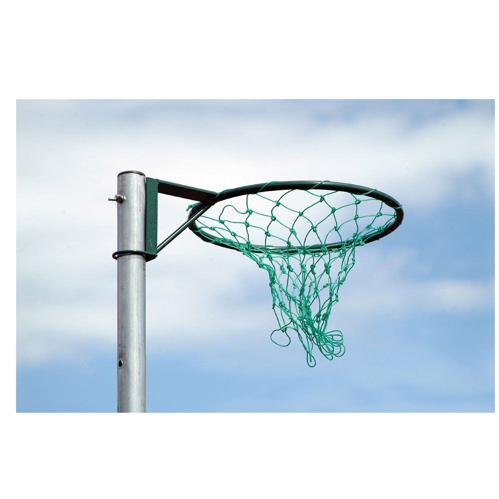 Harron Netball Rings w/ Safety Collar and Net - Green