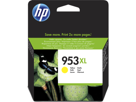 HP 953XL (Yield 1,600 Pages) High Yield Yellow Original