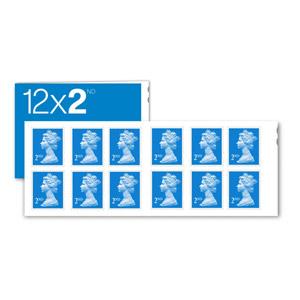 2nd Class Stamps PK12 (Second Class)
