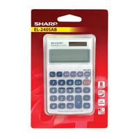 Sharp 8Digit Hand Held Calc EL240SAB