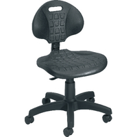FF Jemini Factory Chair Pu Black