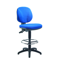 FF Arista Draughtsman Chair Cobalt Blue