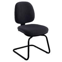 FF Jemini Medium Back Visitor Chair Char