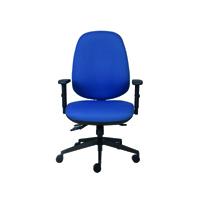 FF Cappela High Back Posture Chair Blue