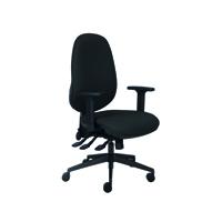 FF Cappela High Back Posture Chair Black