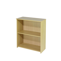 FF Jemini 825mm Small Bookcase Oak