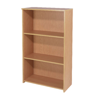 FF Jemini 1200mm Medium Bookcase Beech