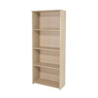 FF Jemini 1775mm Large Bookcase Oak