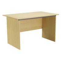 FF Jemintro 1200mm Panel End Desk Oak