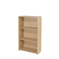 FF Jemini 1225mm Medium Bookcase Maple