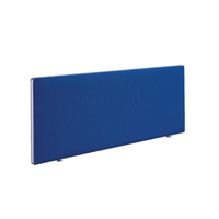 FR FIRST DESK SCREEN 400H X 1800W BLUE