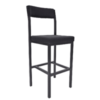 FF Jemini High Stool Charcoal Ps4044