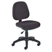 FF Jemini Medium Back Chair Charcoal