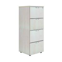 FF Jemini 4 Drw Filing Cabinet Maple