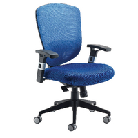 FF Arista Mesh Hb Task Chair Blue
