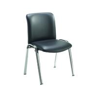 FF Avior Conf Hb Chrome Chair Bll Pu