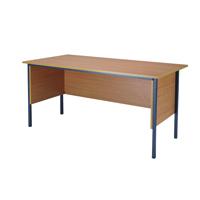 FF Jemini 1500mm 4 Legged Desk Beech