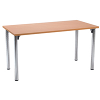 FF Jemini Rect Meeting Room Table F