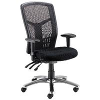 FF Avior 24Hour Hb Mesh Op Chair Blk