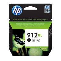 HP 912XL (Yield 825 Pages) Original Black Ink Cartridge