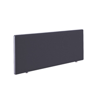 FR FIRST DESK SCREEN 400HX1200W CHARCOAL