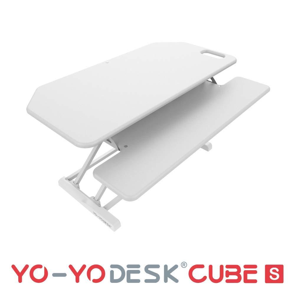 YO-YO Desk Cube-S White 95x45x10-50cm (WxDxH)