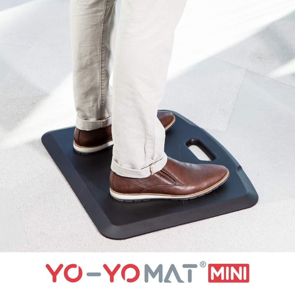 YO-YO Mat Mini Black 56x46cm, Soft Density