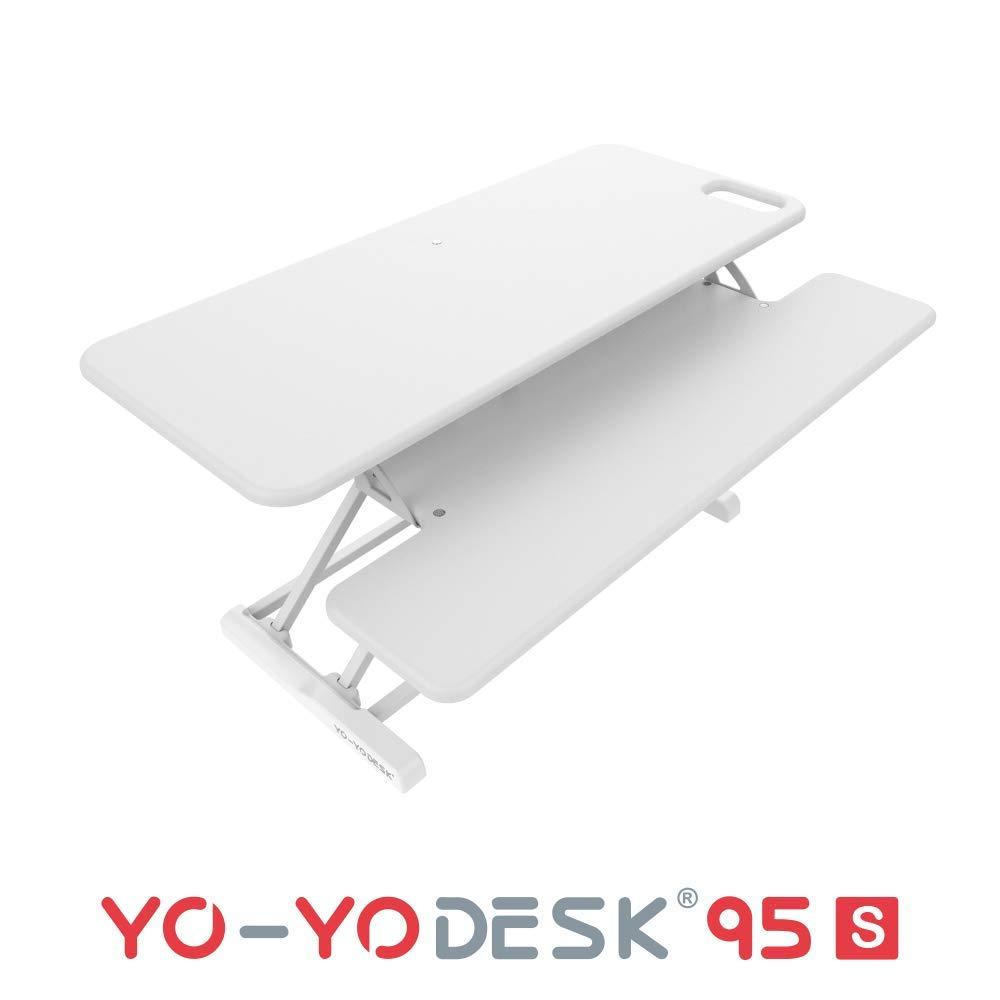 YO-YO Desk 95-S White 95x30x10-50cm (WxDxH)