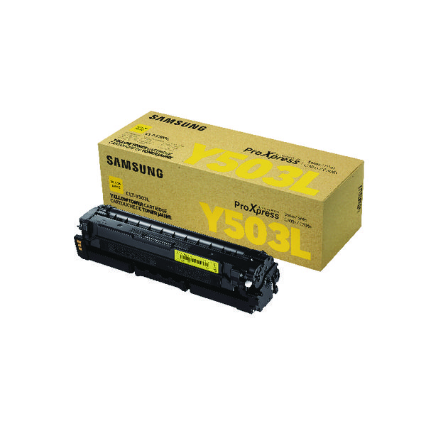 Samsung CLT-Y503L Yellow Toner Cartridge
