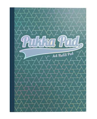 Pukka Glee (A4) 400 Page Sidebound Notebook Refill