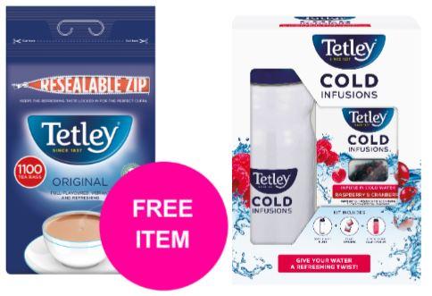 Tetley One Cup Tea Bags High Quality Tea (Pack of 1100)