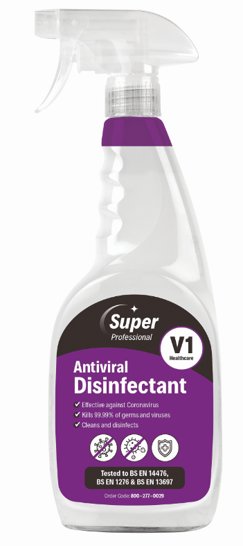Antiviral Disinfectant 750ml Bottle