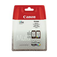 Canon PG-545/CL-546 (Yield: 180 Pages)