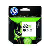 HP 62XL (Yield 600 Pages) Black Original Ink Cartridge