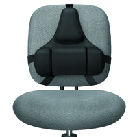 Fellowes Professional Series Back Support Tri-Tachment